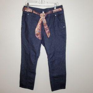 Anthro Pilcro & the Letterpress High Rise Jeans